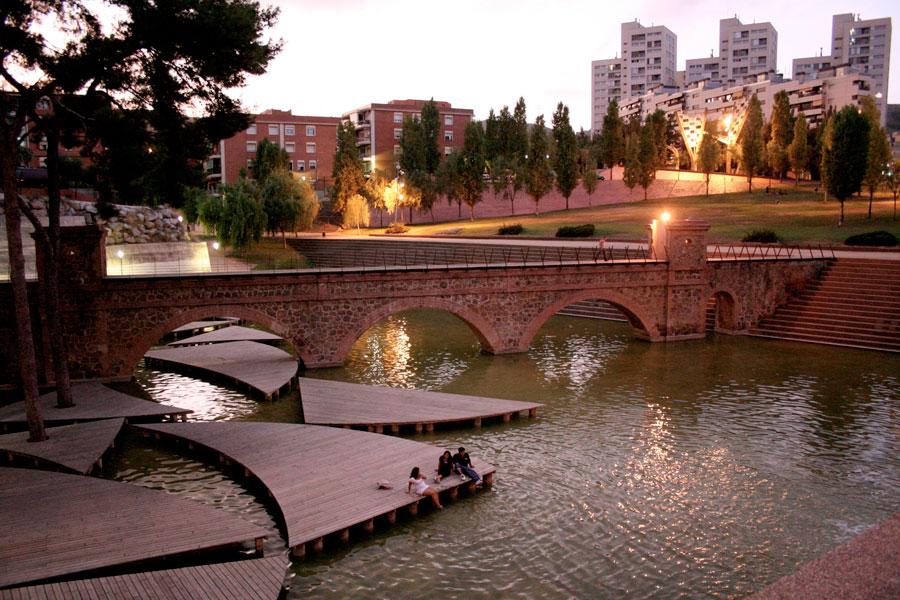 Parc Central De Nou Barris By Arriola Fiol Landscape