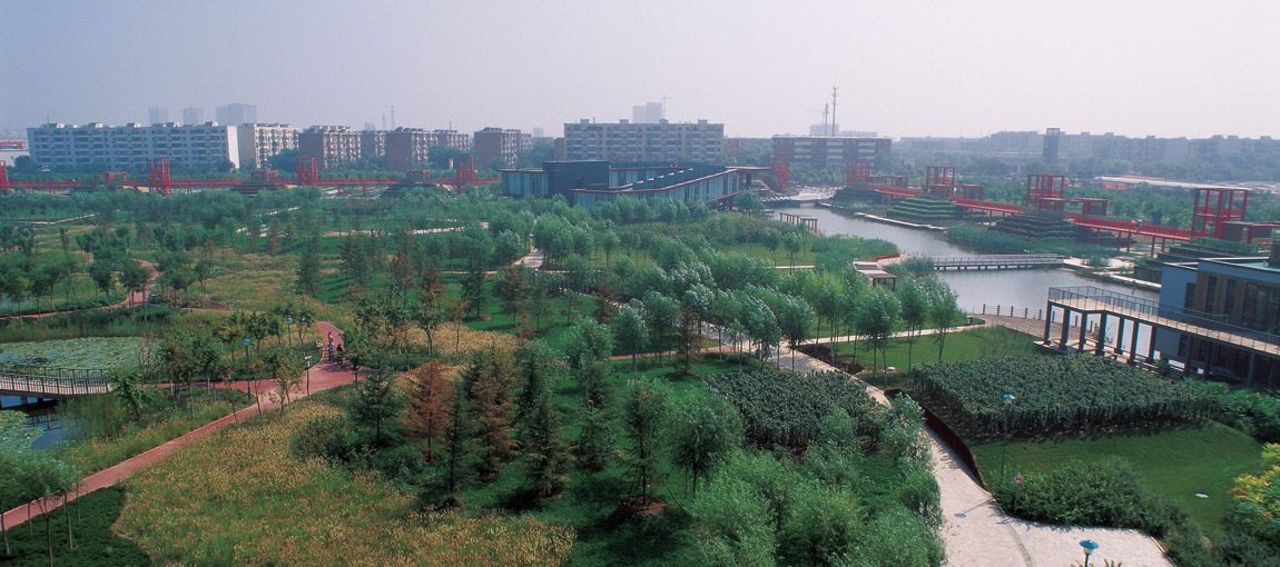 Tianjin Qiaoyuan Park by Turenscape Landscape Architecture ... on prairie climate, prairie winter, prairie seed collecting, prairie landforms, prairie landscape flowers, prairie style landscape ideas, prairie scene, pond design, prairie biome, prairie people,