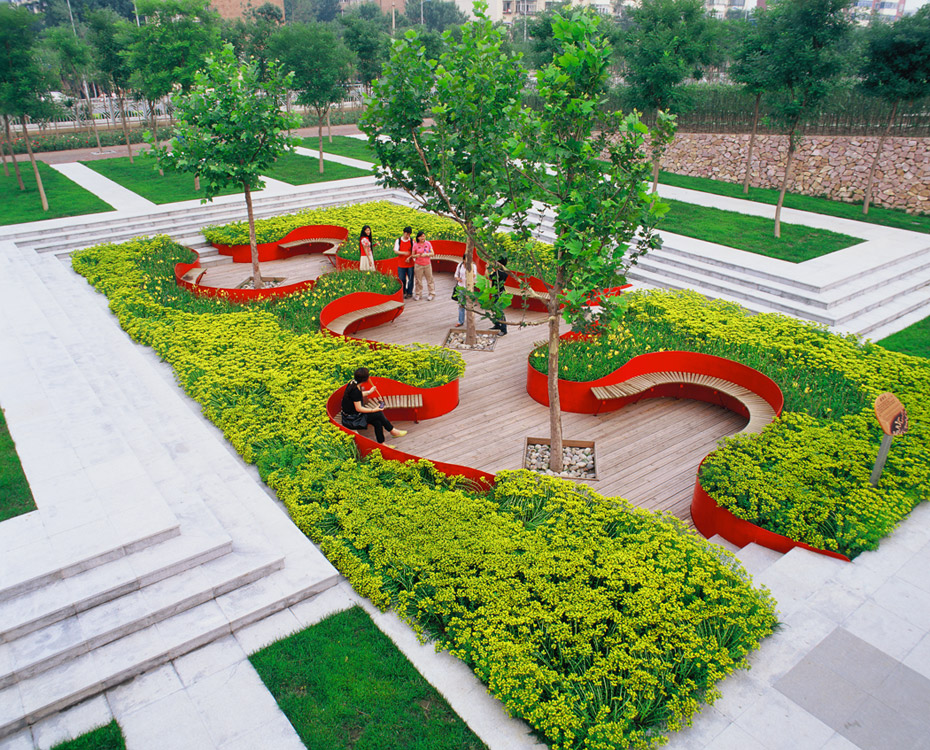 Home Design: Tianjin Qiaoyuan Park By Turenscape Landscape Architecture