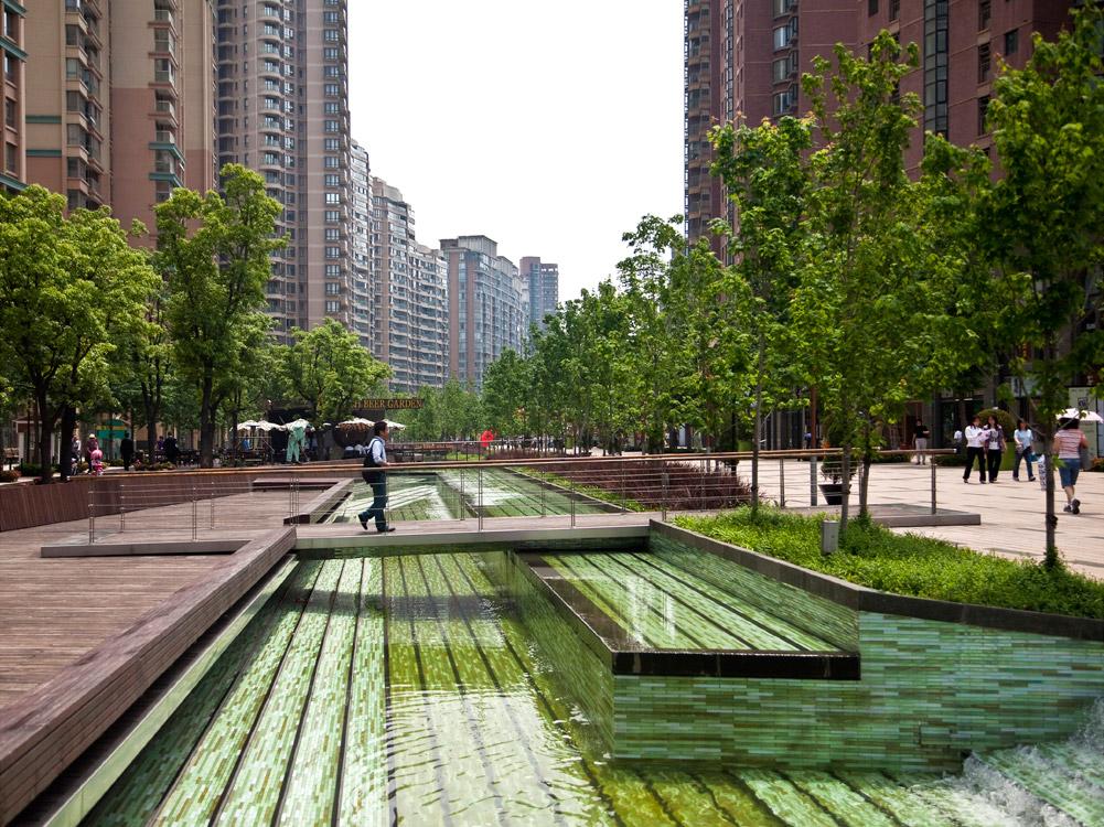 Gubei Pedestrian Promenade by SWA Group « Landscape ...