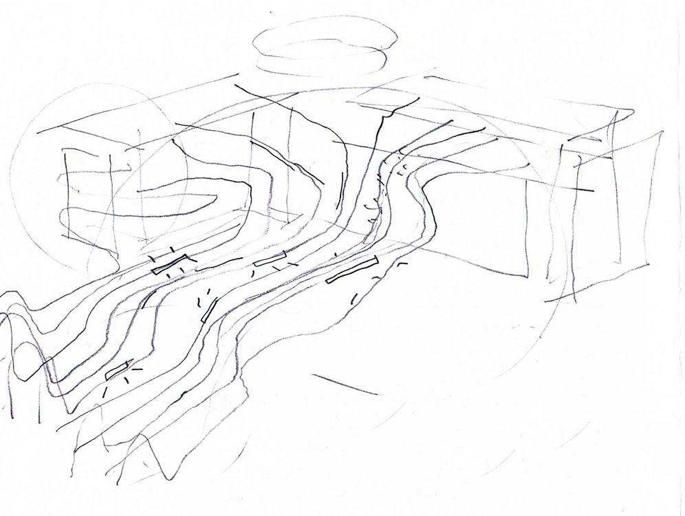 26 Concept Sketch Landscape Architecture Platform Landezine