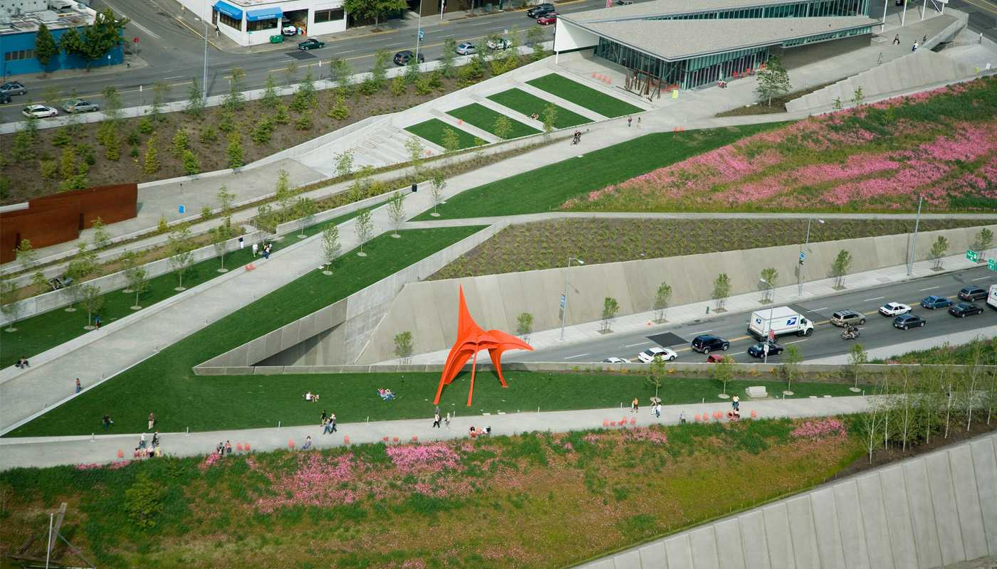 Olympic Sculpture Park By Charles Anderson Atelier Ps