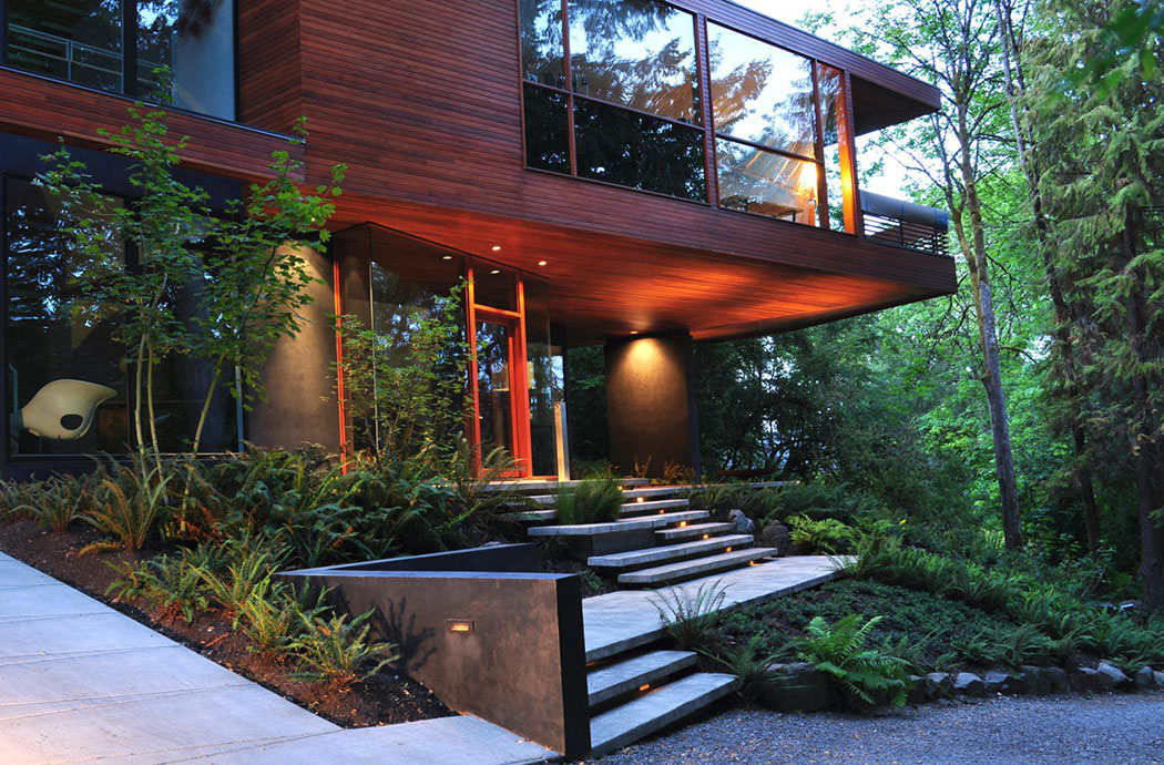 Hoke Residence By 2 Ink Studio Landscape Architecture Platform Landezine
