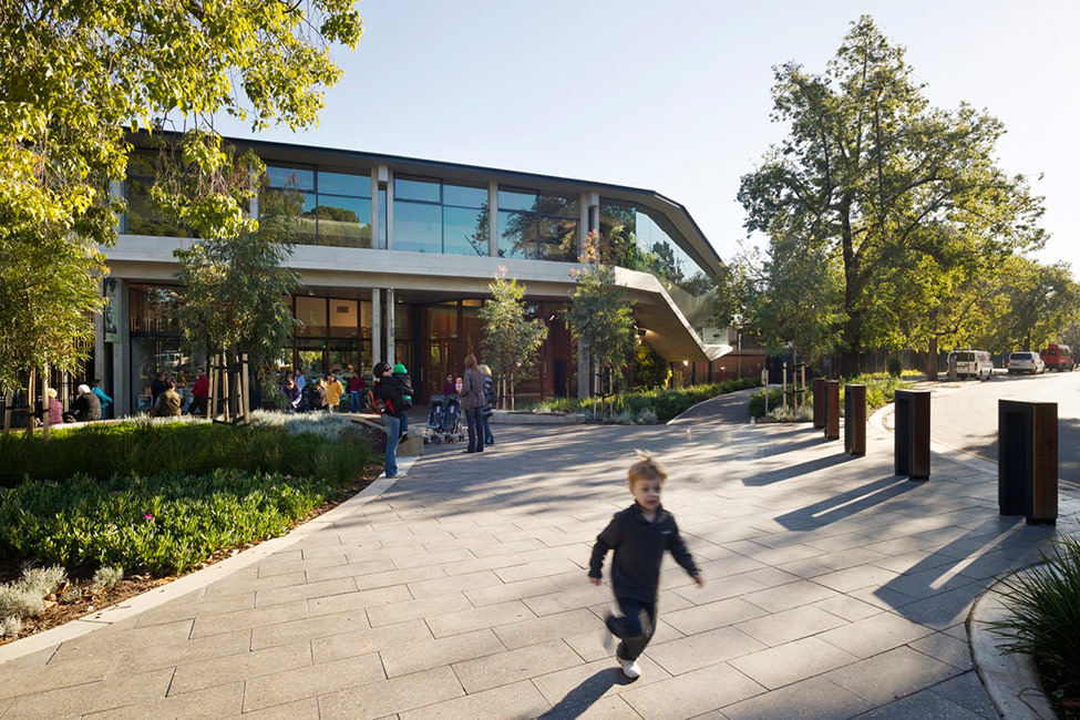 Adelaide Zoo Entrance Precinct And Giant Panda Forest By Hassell Landscape Architecture Platform Landezine