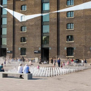 Central to the master plan, Granary Square is the largest public space created at King's Cross Central, roughly equal in size to Trafalgar Square. This open space is adjacent to the historically listed Granary building, originally designed by Lewis Cubitt in 1852 ...