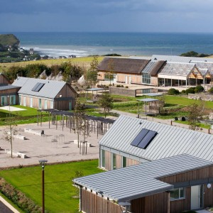 """Located a few hundred meters from the cliffs of Paluel and not far from its nuclear power plant, """"Le Clos des Fées"""" is the extension of the hamlet of Conteville. Master plan was carried out with a focus on providing large open spaces whilst avoiding urban sprawl."""