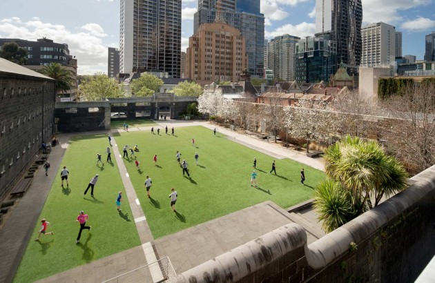RMIT University has been progressively rebuilding its main city campus as part of a sustained transformation of both its building stock and its open spaces. Founded in 1885, RMIT occupies a pivotal location on the civic axis at the top end of Swanston Street in central Melbourne. Overtime RMIT has grown beyond a single city block and spread out to become an ad-hoc piece of the city.