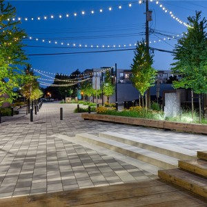Hapa Collaborative and City of Langley worked together to revitalize McBurney Lane as a social space in the heart of downtown Langley. Strengthening pedestrian connections through the Lane, creating flexible spaces to accommodate a variety of programming, and integrating permeable surfaces, drought tolerant planting and rainwater infiltration as part of the City's sustainability agenda.