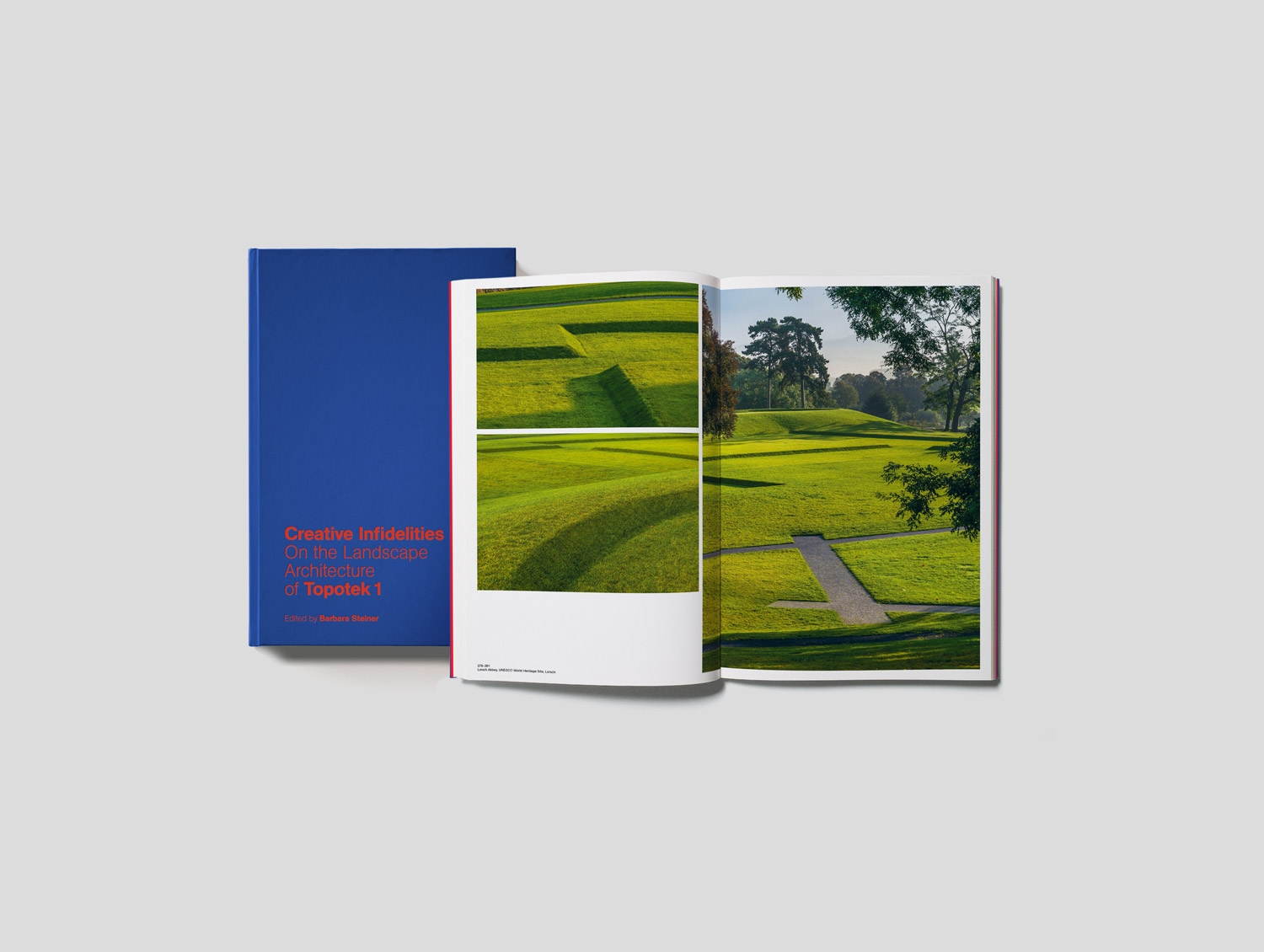 Creative Infidelities. On the Landscape Architecture of Topotek 1. Edited by Barbara Steiner. 440 pages. Jovis Verlag. Berlin 2016