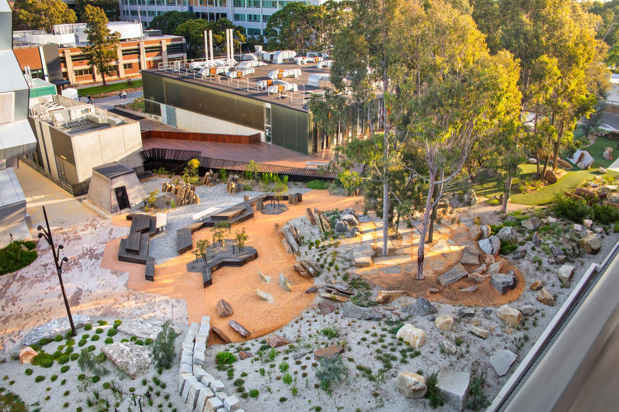 Earth Sciences Garden Monash University By Rush Wright Associates Landscape Architecture Platform Landezine
