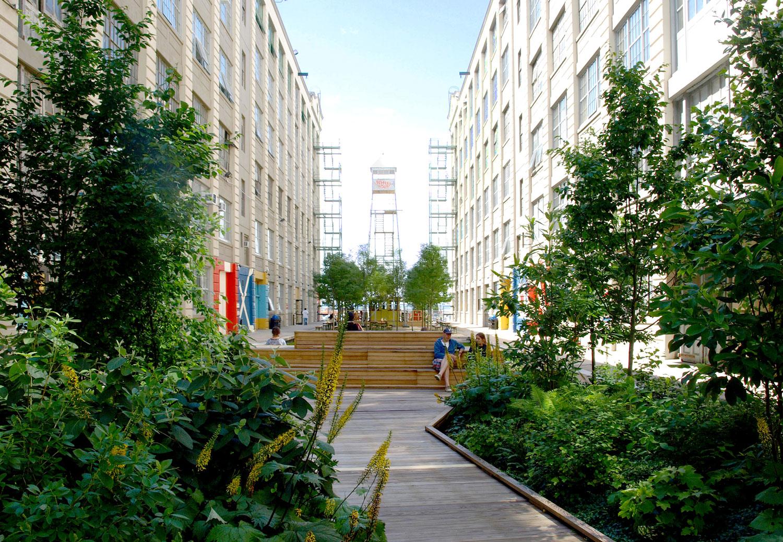 Industry City By Terrain Nyc Landscape Architecture Platform Landezine