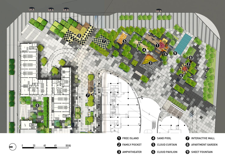 Tetris Square By Lab D H Landscape Architecture Platform Landezine