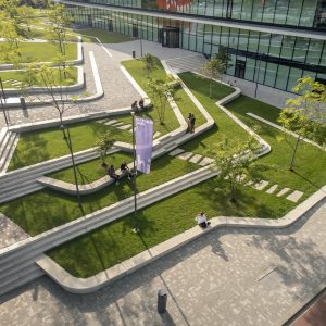 Landscape Design for the ING Headquarters