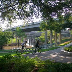 One of the largest investments in public parkland ever carried out by the City of Houston, this $15 million project was the result of an historic public/private partnership to revitalize Houston's downtown urban waterfront. SWA was retained to create a master plan and subsequent full landscape architectural services through two miles of some of the most challenging urban conditions ...